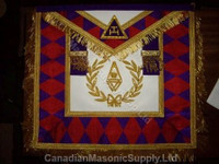 Royal Arch Grand Chapter Apron with Wreath     APR-RA-GC-W