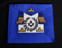 District Deputy Grand Master Undress Aprons  Blue Wreath