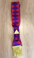 ROYAL ARCH COMPANIONS SASH PURPLE DIAMONDS       SASH-RA-C-P