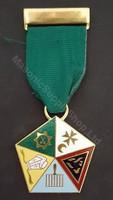 English Style Allied Masonic Degree Members Jewel