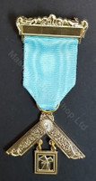 Past Master Breast Jewel   One Bar  Craft with Stone
