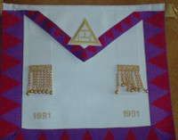 Centennial  Royal arch Apron with Dates
