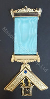 Past Master Breast Jewel-with Blue Stone