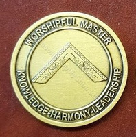Worshipful Masters Presentation Coin