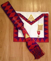 ROYAL ARCH COMPANION  APRON , SASH  & JEWEL SPECIAL   APR-RA-COMSET