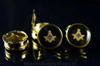 Set of 4 Masonic Button Covers