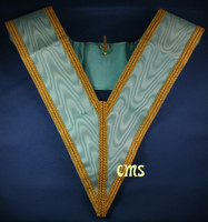 Officers Collar Gold Trim