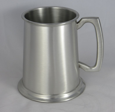 Crafted Cup's Satin-finish tankard: Front profile