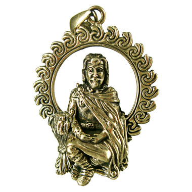 Bronze God Lugh Pendant