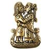 Bronze Viking Kiss Norse Love Blessing Rune Pendant