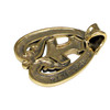 Bronze Dragon Hammer Thor's Mjolnir Rune Pendant