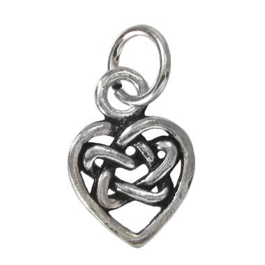 Hidden Heart Pentacle Charm