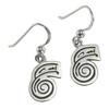 Sterling Silver Dai Ko Myo Reiki Healing Symbol Earrings Jewelry