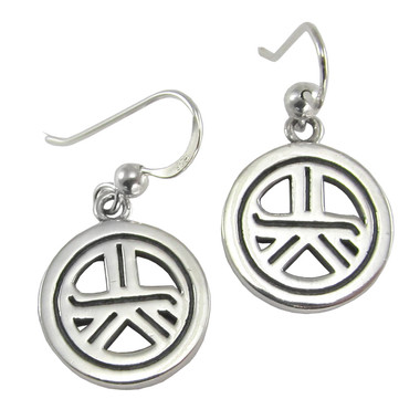 drop or stud symbol om in a precious gold silver choice earrings of metal additional