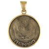 Bronze Ezili Dantor Voodoo Veve Pendant Necklace