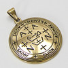 Bronze Sigil of Archangel Zadkiel Enochian Talisman Amulet Angel Jewelry