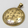 Bronze Sigil of Archangel Uriel Enochian Talisman Amulet Angel Jewelry