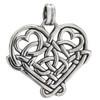 Sterling Silver Celtic Love Knot Heart Pendant