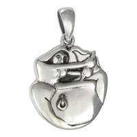 Sterling Silver Small Cerridwen Pendant