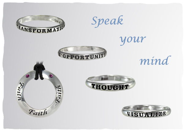 Motivational Saying Jewelry