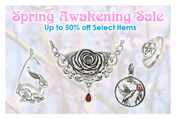 Spring Sale!  Up to 50% off select items