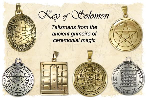 Solomon Talismans and Amulets