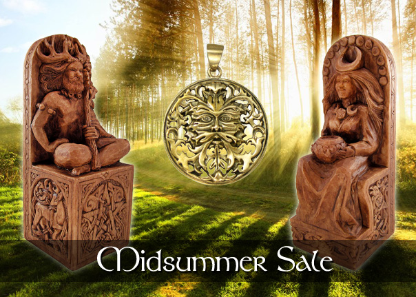 Wiccan and Pagan Jewelry and Statuary Sale
