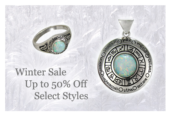 Winter sale!  Get 50% off select styles