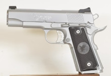 The beautiful Nighthawk Custom T3 Hard Chrome .45ACP 1911 available at Only The Best Firearms