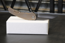 Medford Knives Vypeer Bronze with nice pelican case