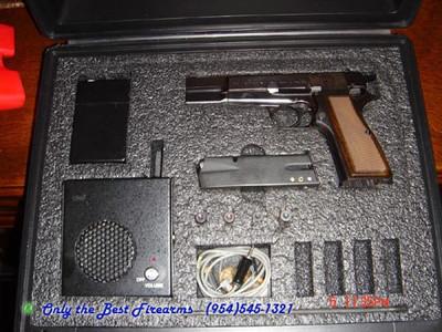 Belgium Browning Hipower Spy Package