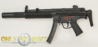 Heckler and Koch, HK, Heckler & Koch, HK MP5sd, Heckler and Koch MP5, transferable mp5, mp5sd for sale, mp5sd machine gun for sale, hk mp5sd for sale, mp5 sear gun, mp5sd sear gun for saleHeckler and Koch, HK, MP5SD 9mm