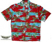 Men's Blended Fabric Hawaiian Shirts