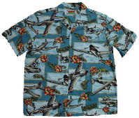 Air Fortress Men's Hawaiian Shirts