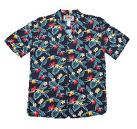 Paradise Plumeria Men's Hawaiian Shirt