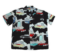 Retro Cadillacs Men's Hawaiian Shirt