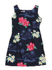 Hilo Hibiscus Short Tank Dress