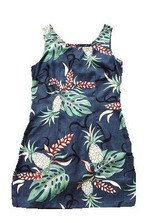 Pineapple Plantation Short Tank Dress