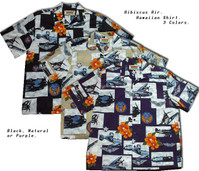 Hibiscus Air Men's Hawaiian Shirts