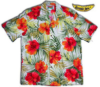 Kona Red Men's Hawaiian Shirt