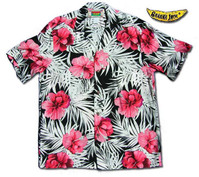 Hibiscus Volcano Men's Hawaiian Shirt