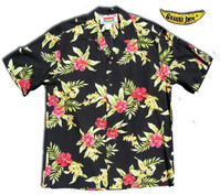 Pele Red Men's Hawaiian Shirt