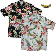 Hana Heliconia Men's Hawaiian Shirts