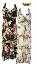 Hana Heliconia Hawaiian Halter Dress