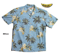Coco Plumeria Men's Hawaiian Shirt
