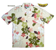 Wild Plumeria Men's Hawaiian Shirt