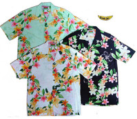 Plumeria Lei Men's Hawaiian Shirts