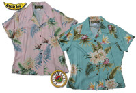 Princeville II Womens Fitted Hawaiian Shirts