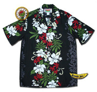 Big Island Black Sand Men's Hawaiian Shirt