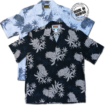 Hawaiian Pineapple Men's Hawaiian Shirts
